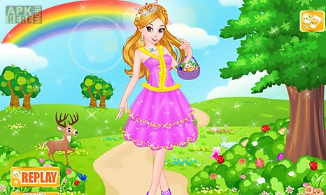 fairytale princess spa salon