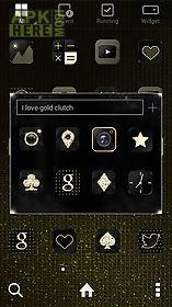 gold clutch dodol theme