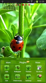 ladybird theme for go launcher