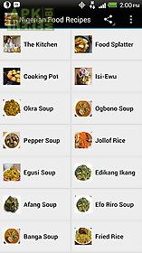 Nigerian food recipes for android free download at apk here store nigerian food recipes forumfinder Images