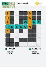 pic crossword puzzle game quiz