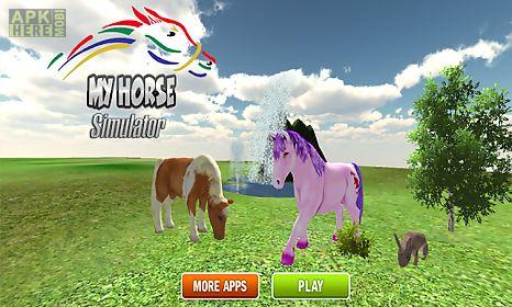 pony horse simulator 3d kids
