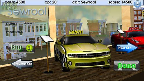 3d taxi drag race