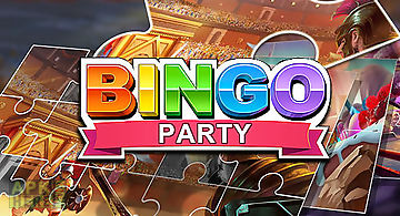 Bingo party: free bingo