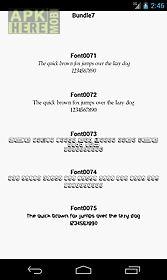 fonts for flipfont 7