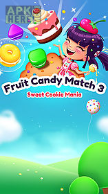 fruit candy blast match 3: sweet cookie mania