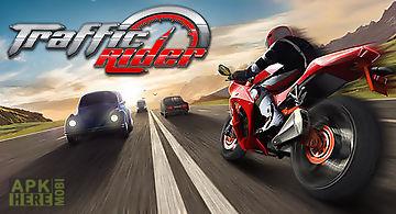 Moto racing: traffic rider