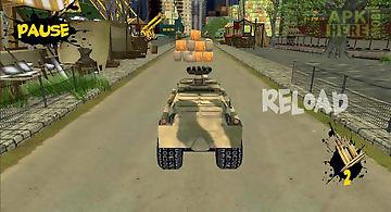 Crazy tank racing 3d