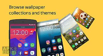 Yandex launcher & wallpapers