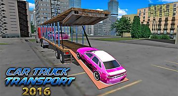Car transporter big truck 2016