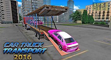 Car transporter big truck 2016
