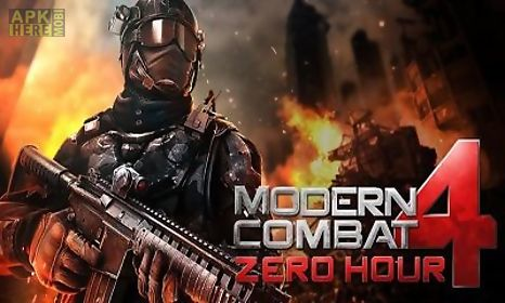 Modern combat 4 zero hour v1 1 7c for Android free download