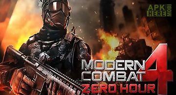 Modern combat 4 zero hour v1.1.7..