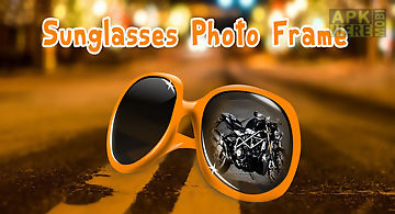 Sunglasses photo frame