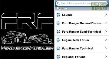Ford ranger forum app