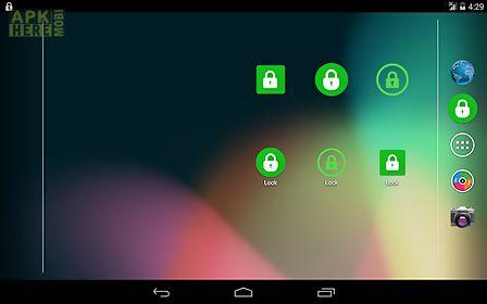 turn off screen (lock screen)