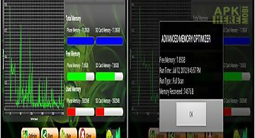 Android memory optimizer hd