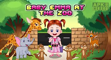 Baby emma at the zoo