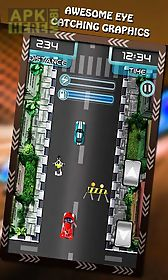 highway speed racing car rush