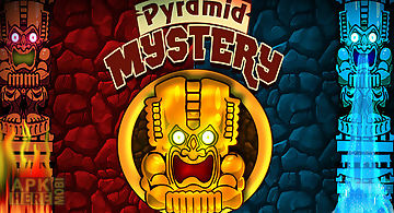 Pyramid mystery maze game