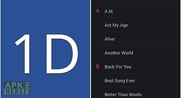 1d lyrics