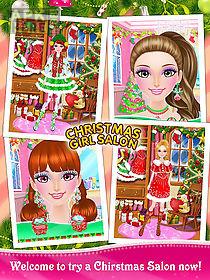 christmas girl salon