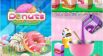Donuts maker salon