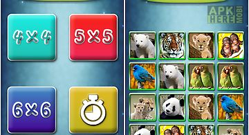 Fun with animals matching game