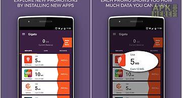Gigato: free data recharge
