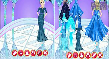 Princess frozen dress up games