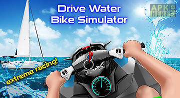 Drive water bike simulator