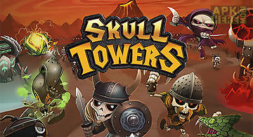 Skull towers: castle defense
