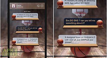 Go sms pro dunk theme