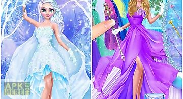 Ice queen salon - frosty party