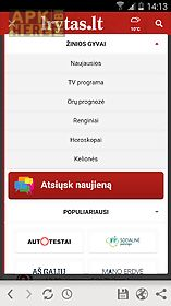 Lrytas lt for Android free download at Apk Here store