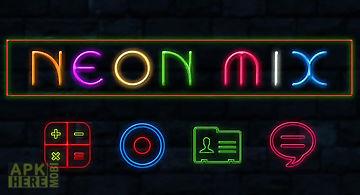 Neon mix theme