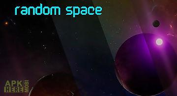 Random space