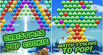 Christmas pop cookie