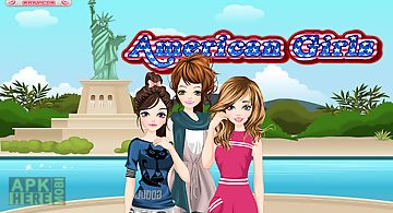 American girls - girl games