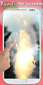 explosion screen