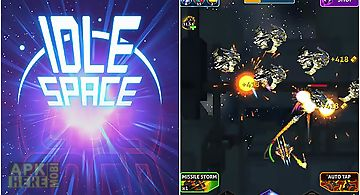 Idle space: endless clicker