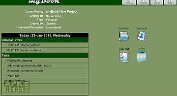 Mybook lite personal organizer