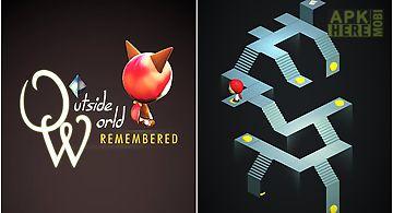 Outside world: remembered