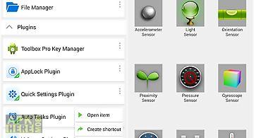 Sensor box plugin