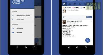 Facebook lite for android free download at apk here store apkherebi lite feed for facebook fast stopboris Images