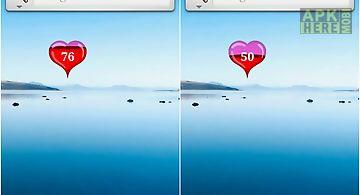 Heart battery widget best