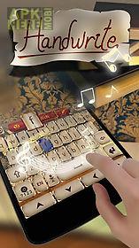 handwrite go keyboard theme