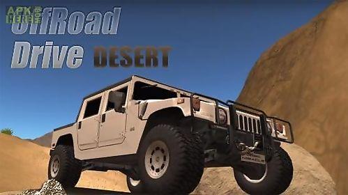 offroad drive: desert