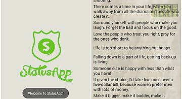 Statusapp for whatsapp status