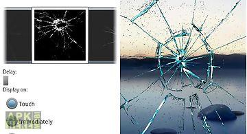 Cracked display prank